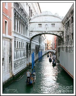 Photograph - Venezia Ponte Dei Sospiri by Mariarosa Rockefeller
