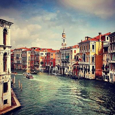Cityscape Photograph - #venezia #venice #italy by Luisa Azzolini