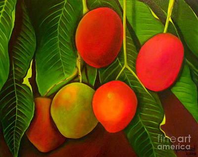 Painting - Venezuelan Mangos by Fanny Diaz