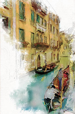 Venice Painting - Venice 1 by Greg Collins