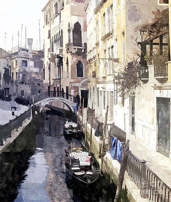 Venice 1 Art Print by Julie Woodhouse