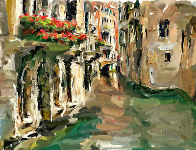 Venice 11 Art Print