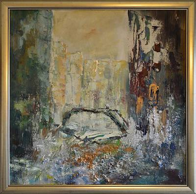 Quadri Painting - Venice 2 By Mihaela Ghit by Mihaela Ghit
