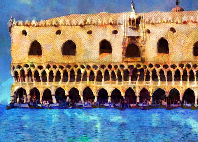 Venice Painting - Venice 2 by George Rossidis