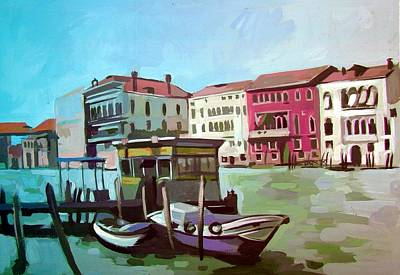 Grande Painting - Venice 5 by Filip Mihail