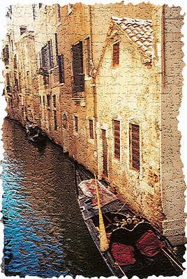 Venice 9 Art Print by Rebecca Cozart