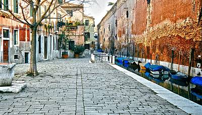 Photograph - Venice Alley II by Ricardo J Ruiz de Porras