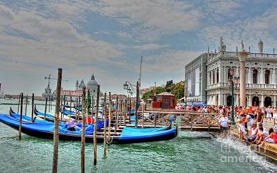 Photograph - Venice Always Venice by Ines Bolasini