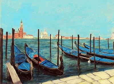 Buildings Painting - Venice by Anastasiya Malakhova