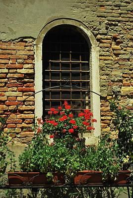 Venice Antique Window Art Print