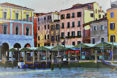 Venice Architecture 3 Art Print by Yury Malkov