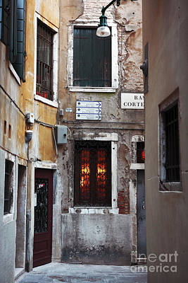 Photograph - Venice Architecture I by John Rizzuto