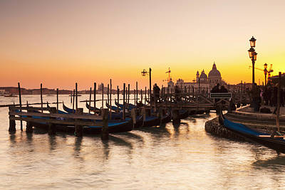 Venice At Dusk Venice, Italy Art Print