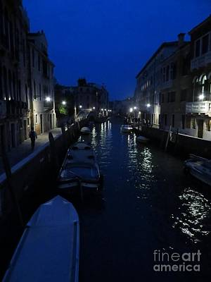 Photograph - Venice At Night by Tim Townsend
