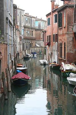 Venice Backstreets Art Print