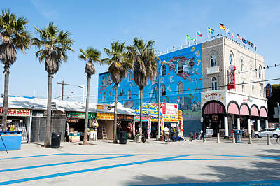 Venice Beach Boardwalk Art Print by Joe Belanger