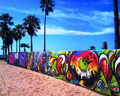 Photograph - Venice Beach Flavor by Third Eye Perspectives Photographic Fine Art