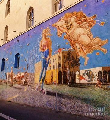 Venice Beach Iconic Mural Art Print