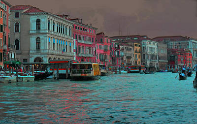 Photograph - Venice Before The Storm by Don Wolf