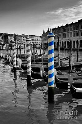 Photograph - Venice Blue by Henry Kowalski