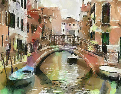 Venice Bridges 2 Art Print by Yury Malkov