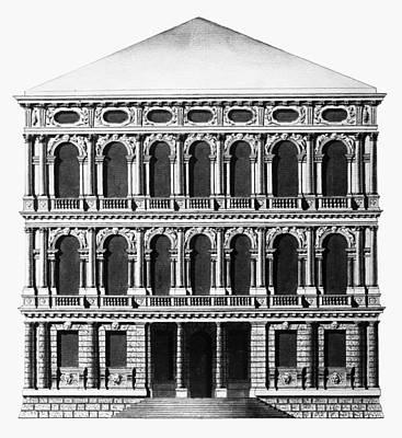 Venice Ca Rezzonico Art Print by Granger