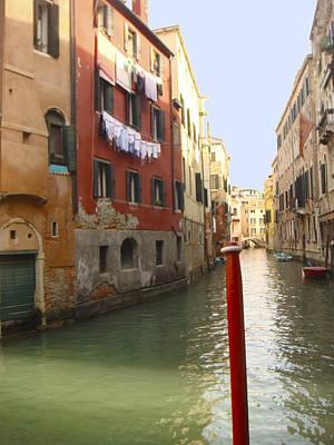 Photograph - Venice Canal 3 by Karen Zuk Rosenblatt