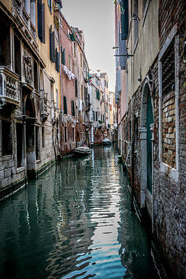 Photograph - Venice Canal by Anthony Doudt