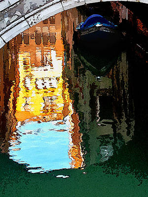 Photograph - Venice Canal by David Coblitz