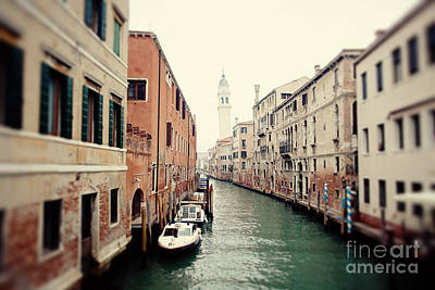 Venice Canal I Art Print by Erin Johnson