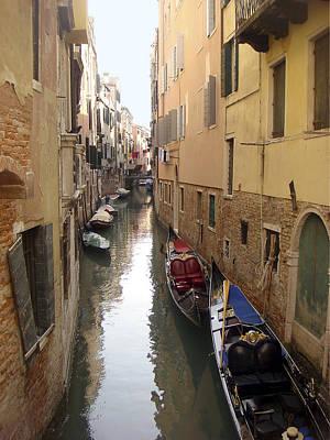 Photograph - Venice Canal by Karen Zuk Rosenblatt