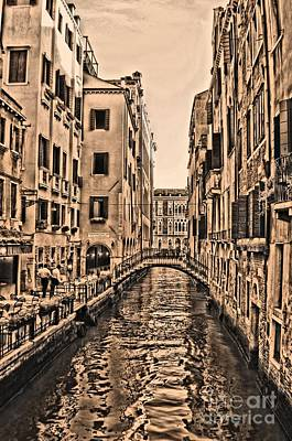 Photograph - Venice Canal by Matthew Naiden