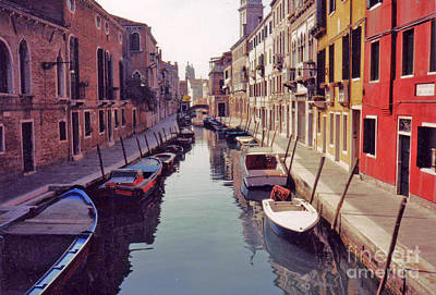 Art Print featuring the photograph Venice Canal by Rita Brown