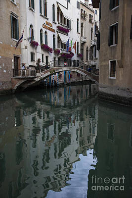 Photograph - Venice Canal by Timothy Johnson