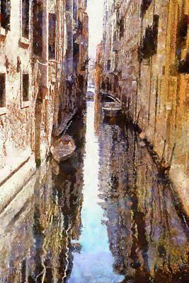 Venice Canals 3 Art Print