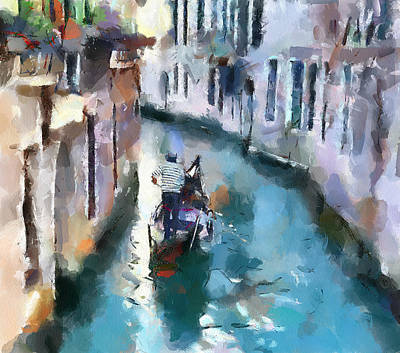 Venice Canals 6 Art Print by Yury Malkov