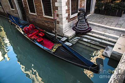 Carnival Photograph - Venice Carnival '15 by Yuri Santin