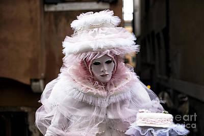 Photograph - Venice Carnival Cake by John Rizzuto