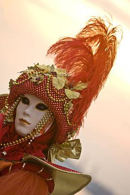 Photograph - Venice Carnival by Indiana Zuckerman