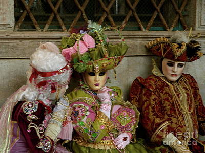 Photograph - Venice Carnival Xii by Louise Fahy