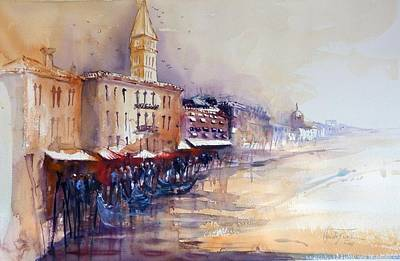 Painting - Venice by Christa Friedl