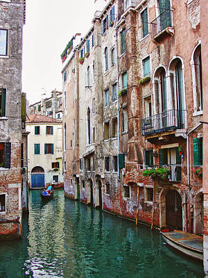 Venice City Of Water 2 Art Print by Julie Palencia