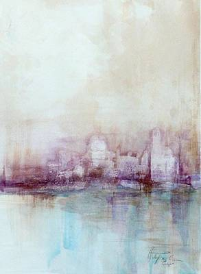 Painting - Venice Cityscape by Christa Friedl