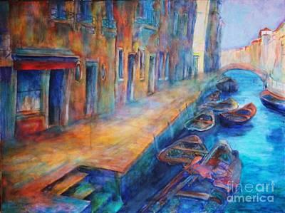 Dagmar Painting - Venice by Dagmar Helbig