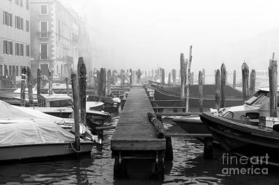Photograph - Venice Dock by John Rizzuto