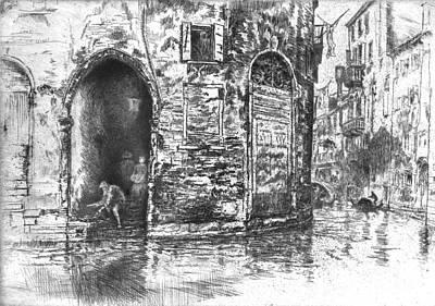 Venice Doorways 1880 Art Print by Padre Art