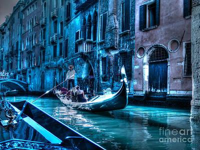 Art Print featuring the photograph Venice Dream by Hanza Turgul