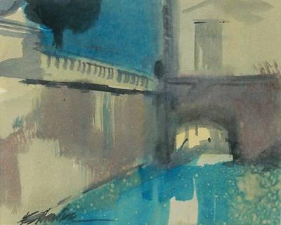 Venice  Art Print by Ed  Heaton
