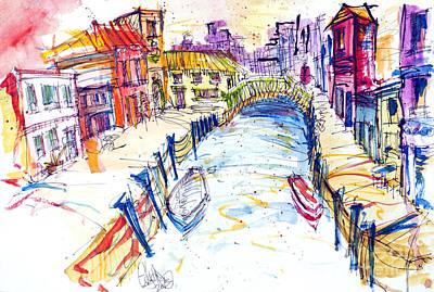 Venice Art Print by Edgar Rafael