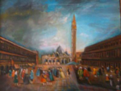 Venice Art Print by Egidio Graziani